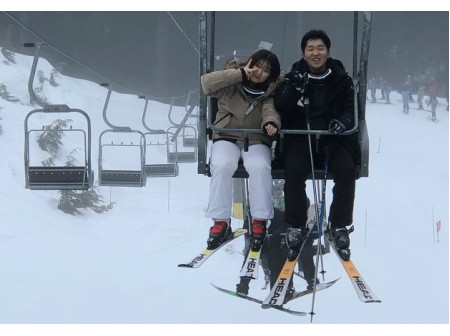 2018 1월 스키장